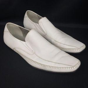 Steve Madden M-Trace Loafer White Size 9.5